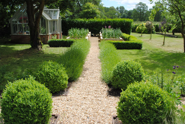 Kitchen Garden Portfolio of New Forest Garden Design ...